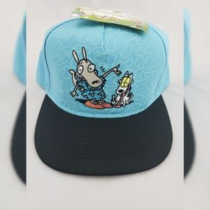 NWT Nickelodeon Rocko Snap Back Hat